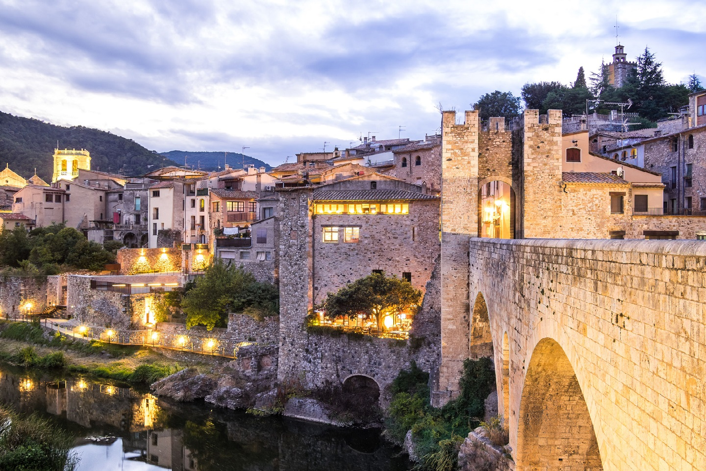 Barcelona to Besalu day trip
